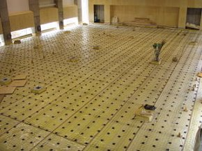 Appearance Floating Floor Construction